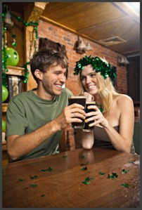Happy St. Patrick's Day Or in Gaelic - Beannachtaí na Féile Pádraig!
